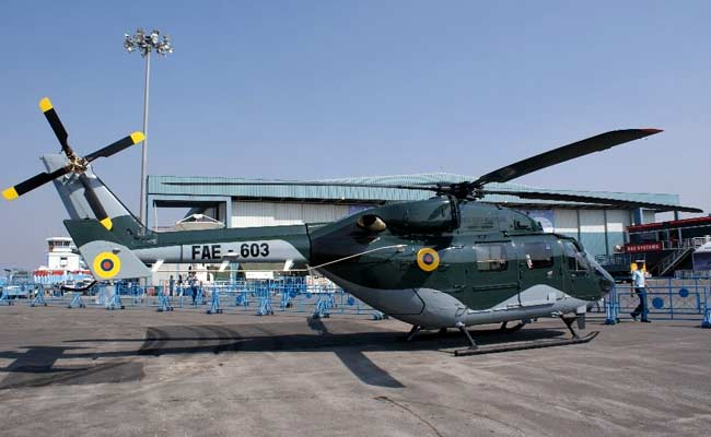 HAL Arm Delivers Aero-Structures For Advanced Light Helicopters Dhruv