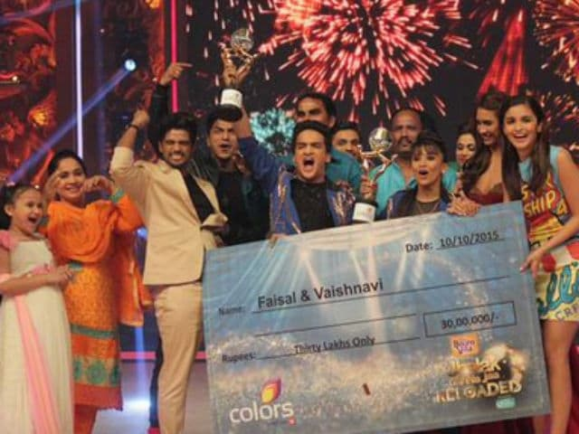 Faisal Khan Wins Jhalak Dikhhla Jaa Reloaded