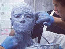 Why Heidi Klum Covered Herself in Plaster