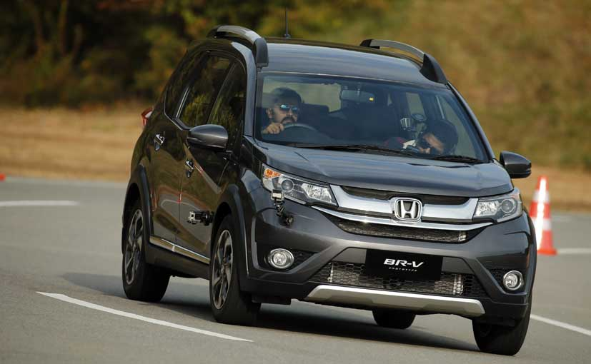 honda br v compact suv first drive ndtv carandbike. Black Bedroom Furniture Sets. Home Design Ideas