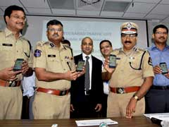 Hyderabad Traffic Police Launches Mobile App