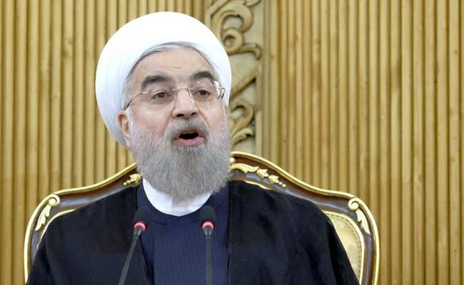 Iran's President Hassan Rouhani Registers To Run For Re-Election