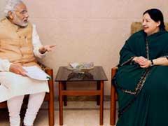 Expedite AIIMS Project In Tamil Nadu, Jayalalithaa Tells PM Modi