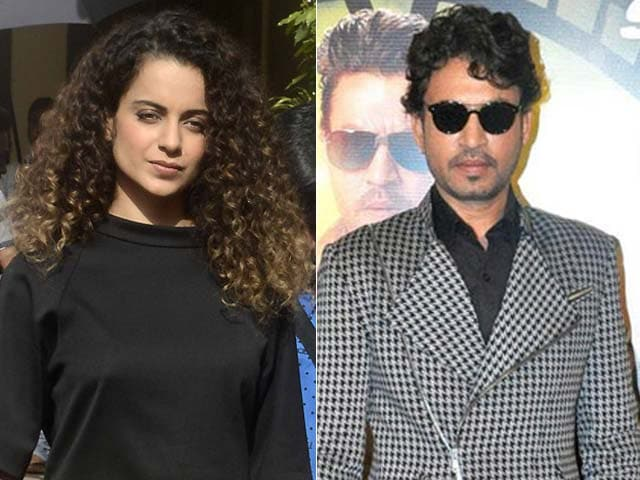 Kangana Ranaut May Star With Irrfan Khan in Feature on Begum Akhtar