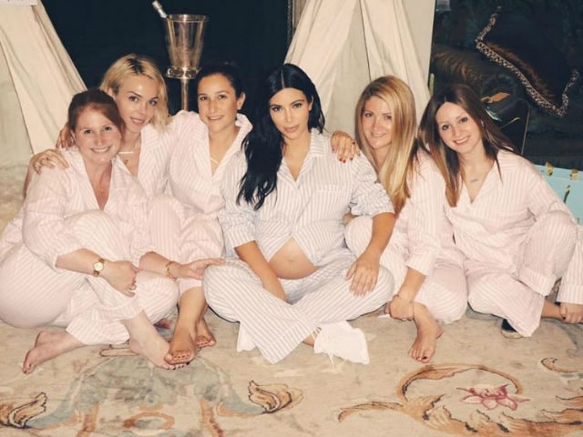 Inside Kim Kardashian's Star-Studded Baby Shower