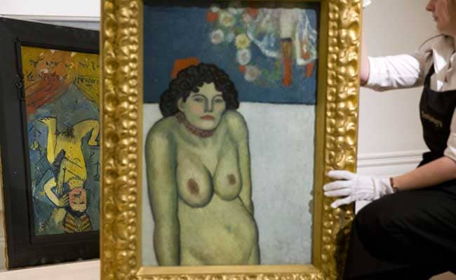 Sotheby's to Auction Picasso's 'La Gommeuse'