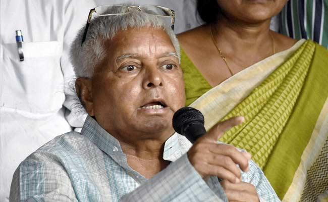 बिहार चुनाव : RJD सुप्रीमो लालू प्रसाद के खिलाफ आचार संहिता के उल्लंघन का मामला दर्ज