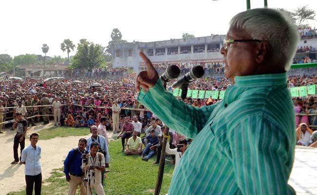 Lalu Prasad Files Bond in Case Against Him Over 'Casteist' Remarks