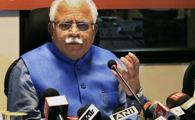 Under BJP Government, Jobs Being Given Purely On Merit Basis: Manohar Lal Khattar