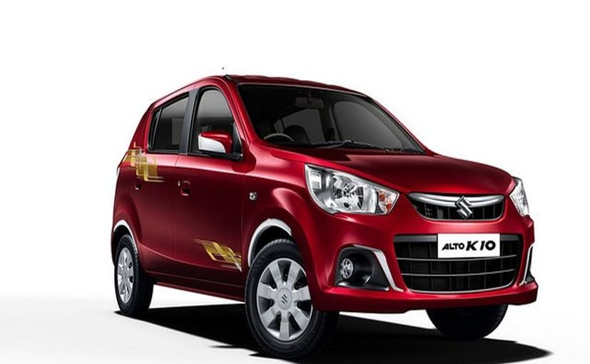 Maruti Suzuki Alto K10 Urbano Limited Edition Launched ...