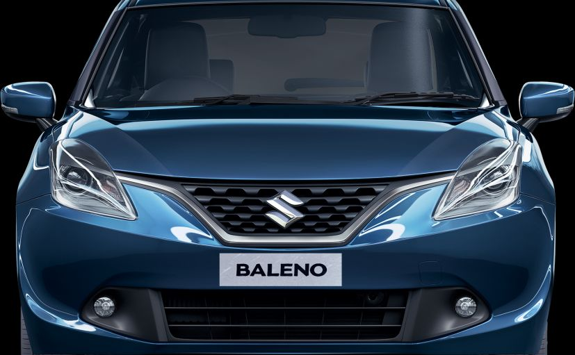 Glove box lamp in baleno