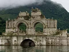 तस्वीरों में देखें : जब मेक्सिको में अचानक 'प्रकट' हुआ 16वीं शताब्दी का चर्च