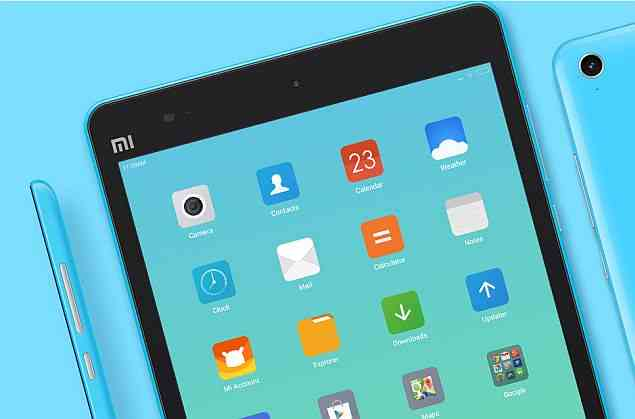 mipad tablet blue