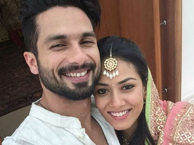 Mira Rajput is Not Doing Any Film, Says Shahid Kapoor