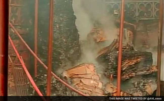 Fire at Crawford Market in Mumbai