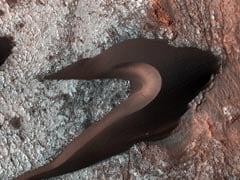 NASA Maps Sand Dunes on Mars