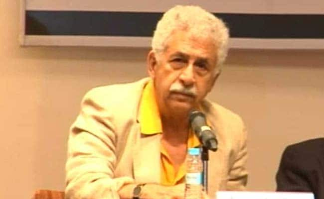 Indians, Pakistanis Should Be Friends, But Not on Facebook: Naseeruddin Shah