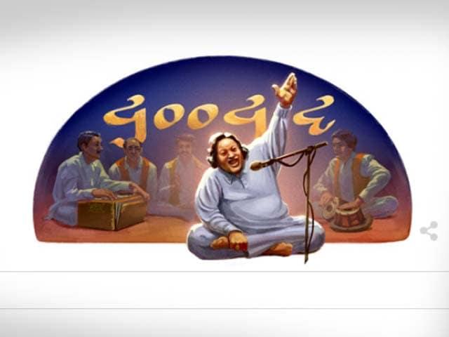 Google Doodle Celebrates Nusrat Fateh Ali Khan's Birth Anniversary