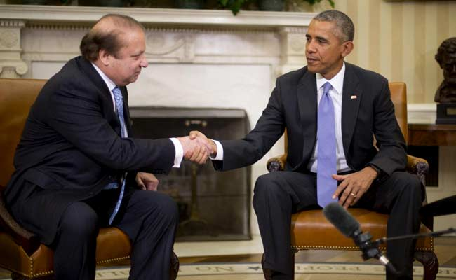 Obama, Nawaz Sharif Call for Sustained, Resilient India-Pakistan Talks