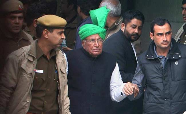 OP Chautala, 82, Passed School, Says Son. Wrong, Says Institute