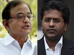 BJP, Congress Spar Over Chidambaram's Letter on Lalit Modi