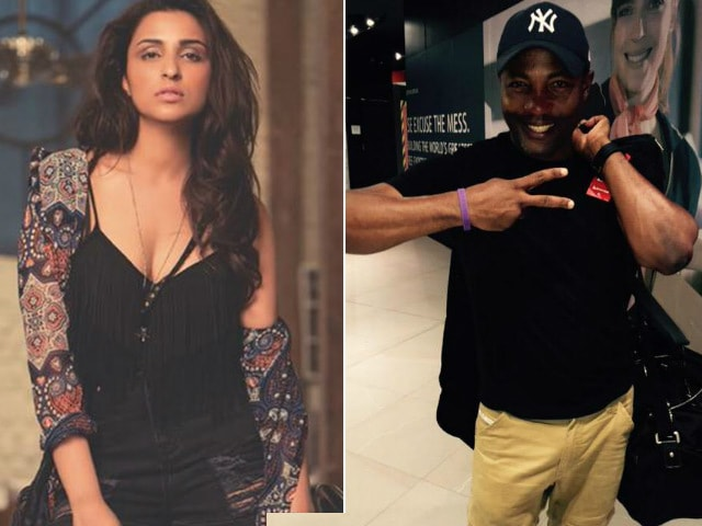 Parineeti Chopra Met Brian Lara in Hyderabad. She Was 'Touched'