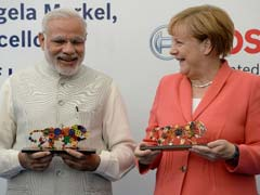 In Bengaluru, PM Modi and Chancellor Merkel Discuss Digital Future Together