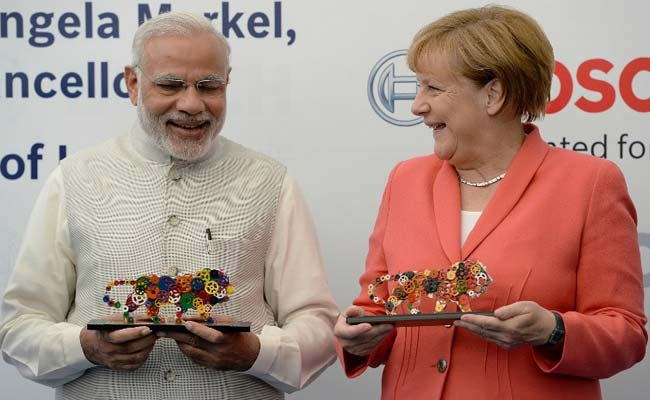Prime Auto Group >> PM's 'Make in India' Pitch as Chancellor Angela Merkel ...