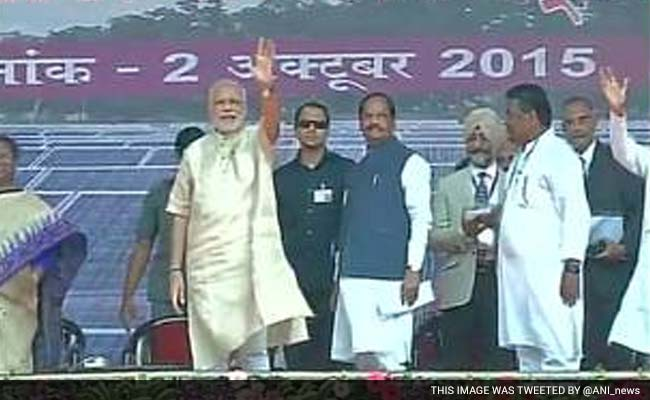 Terming Bapu His 'Inspiration', PM Modi Bats for Saving Environment