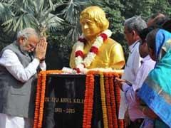 PM Modi Announces Memorial for Abdul Kalam on 84th Birth Anniversary