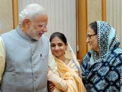 Prime Minister Narendra Modi Gives Rs 1 Crore to Edhi for Caring for Geeta