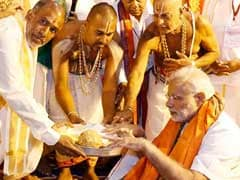 Prime Minister Narendra Modi Offers Prayers at Tirumala Temple