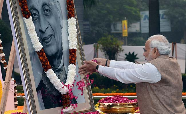 PM Modi Pays Tributes To Sardar Vallabhbhai Patel On His Death Anniversary