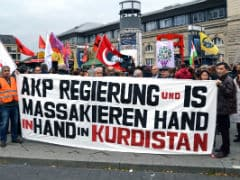 Thousands Take to Streets in Europe to Protest Ankara Attacks