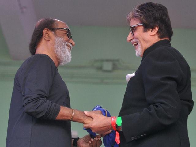 Amitabh Bachchan Had 'Great Company' on Saturday. So Did Rajinikanth