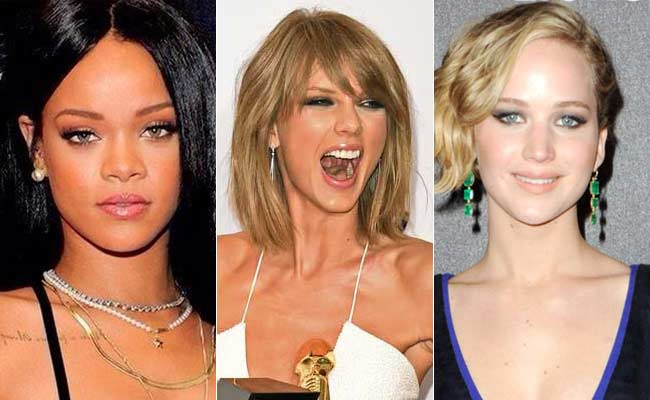 Rihanna Taylor Swift Jennifer Lawrence Three Lessons In Power