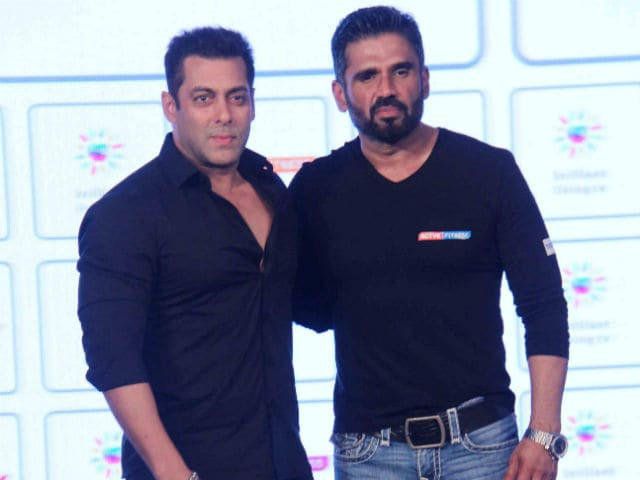 Suniel Shetty: Salman Khan is Planning to Launch My Son