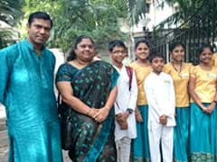 100 Children Pay Tribute to Queen of Carnatic Music MS Subbulakshmi on Her Birth Centenary