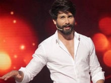 Shahid Kapoor is 'More Than Happy'  to do Television Shows