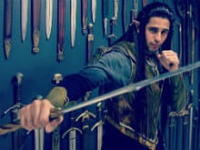 Sidharth Malhotra's 'Elf Look' From <I>The Lord of The Rings</i> Sets