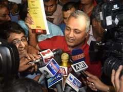 Day After Bail, Somnath Bharti Meets Delhi Chief Minister Arvind Kejriwal