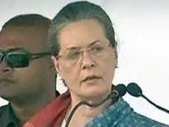 Sonia Gandhi Addresses Rally in Bihar's Bhagalpur: Highlights