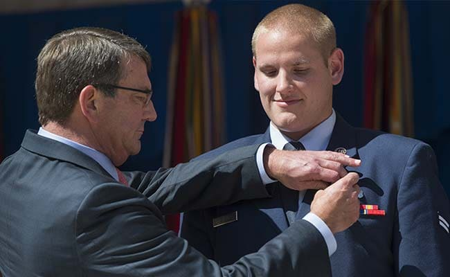 Airman Who Halted Attack to Attend Obama's Speech
