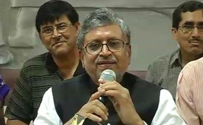 सुशील मोदी ने कहा - तेजस्वी यादव के खिलाफ आरोप तब के हैं जब वह बालिग हो गए थे