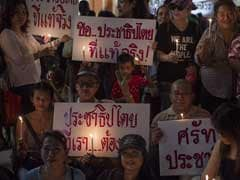 Thailand Anti-Coup Activists Mark Student Crackdown Anniversary