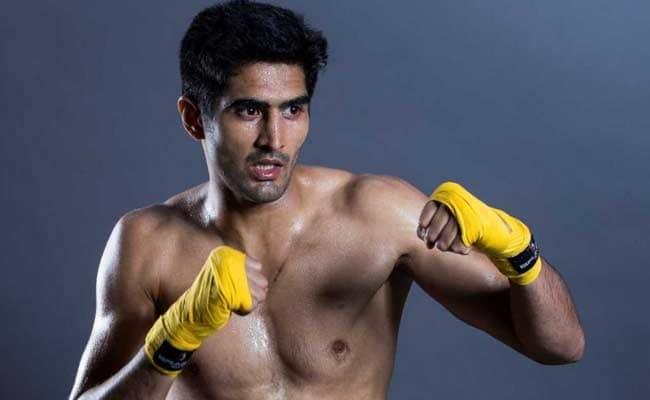 डब्ल्यूबीओ रैंकिंग में दसवें स्थान पर पहुंचे भारतीय बॉक्सर विजेंदर सिंह
