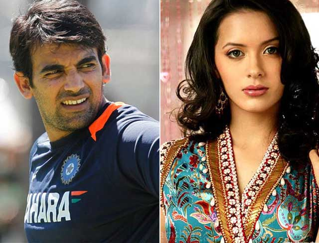 zaheer khan was not far behind in romance also, linked ...