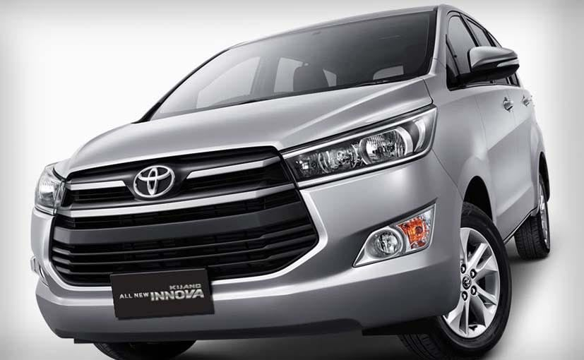 New Toyota Innova Launched In Indonesia
