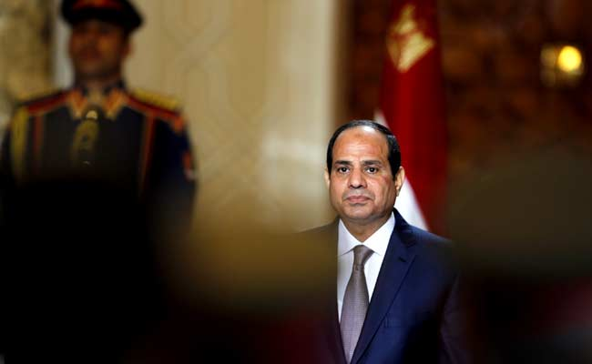Egypt's Abdel Fattah al-Sisi Vows To Keep Up Qatar Blockade