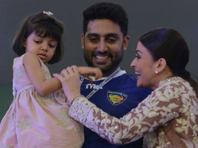 For Aaradhya, a Birthday Wish From Daddy Abhishek Bachchan